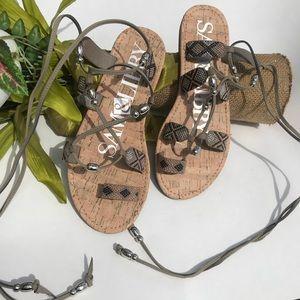 Sam & Libby Wrap Around Sandals